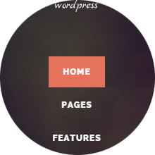Vertical Menu With Background Image